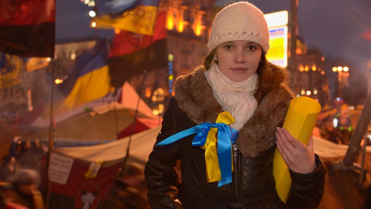 Ber ard Grua Maidan Kiev Olesya