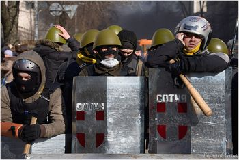 Lipska Photo Bernard Grua - Kiev Maidan