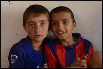 Muiz (left) & a cousin