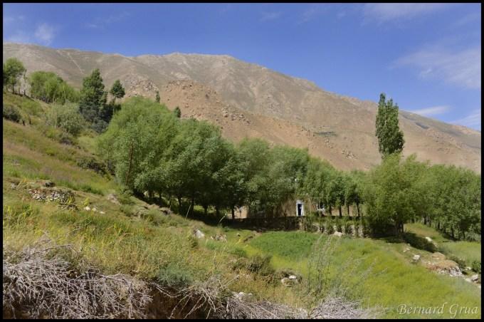 A house in Tusion, Pamir, Tajikistan - Tosion, Tusiyan, Tusen, Тусен