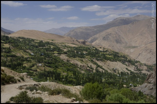 Tusion village in Pamir