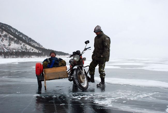 Visiting Baikal Lake in winter – February/March2007