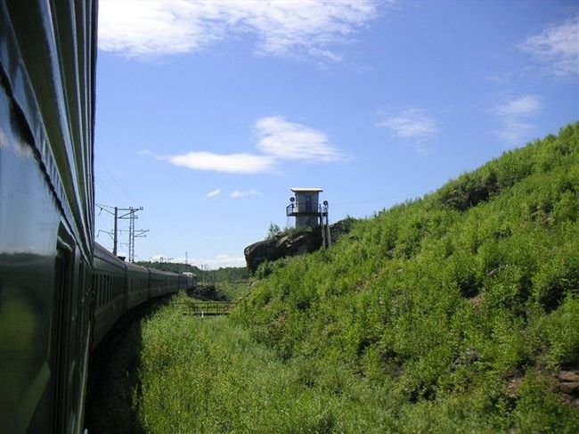 From Moscow to Vladivostok with Trans-Siberian and BAM train – Summer2006