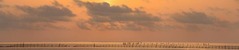 Bernard Grua Levé de soleil sur la mer de Kerkennah