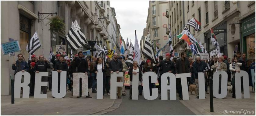 Bernard Grua Manifestation nantaise réunification 19 avril 2014