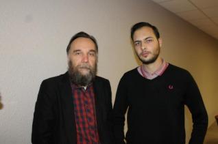 Gauthier Bouchet avec Alexandre Douguine, Front Nationa, Saint Nazaire, Jean Claude Blnchard