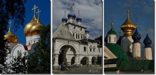 Bernard Grua clochers de Russie