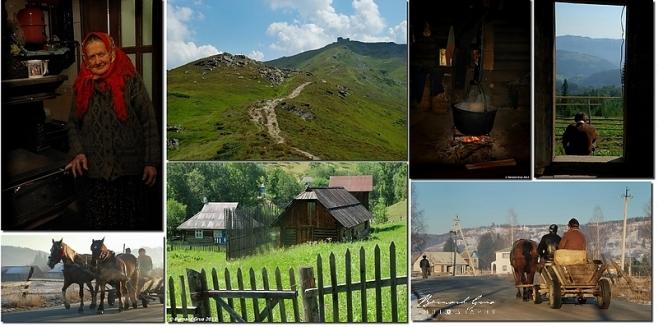Carpates ukrainiennes. Kosmach, Pip Ivan massif de la Tchornohora, Dzembronya. Photos Bernard Grua