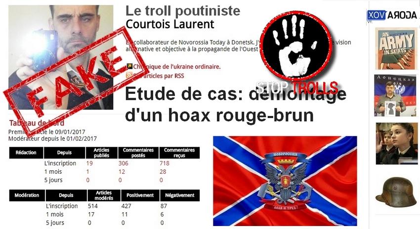 Laurent Courtois, un troll de la fachosphère, admirateur de symboles nazis, de jeunes filles en uniformes et de porno, un adepte de la diffamation calomnieuse au service de ses perversion et frustrations sexuelles