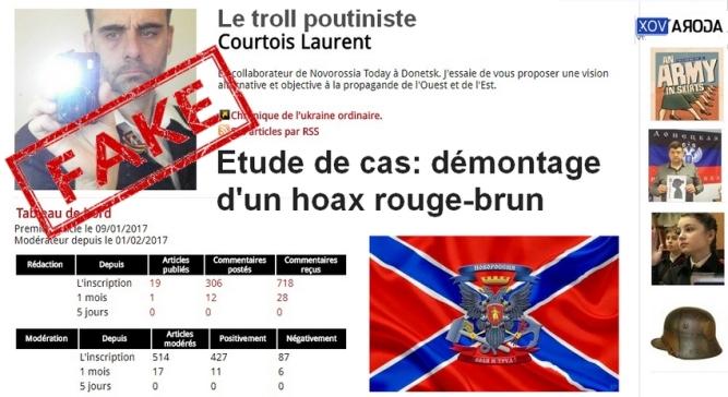 Comment Bernard Grua, pris fait et cause pour l'Ukraine Laurent Courtois Agoravox Donetsk Novorossia