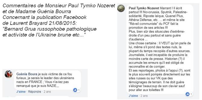 Témoignages contre la diffamation de Laurent Brayard, Doni Press, Novorossia, Donetsk, Laurent Courtois