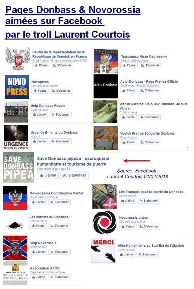 Novorossia et le troll Laurent Courtois Laurent par Bernard Grua Agoravox Novorossia Donetsk