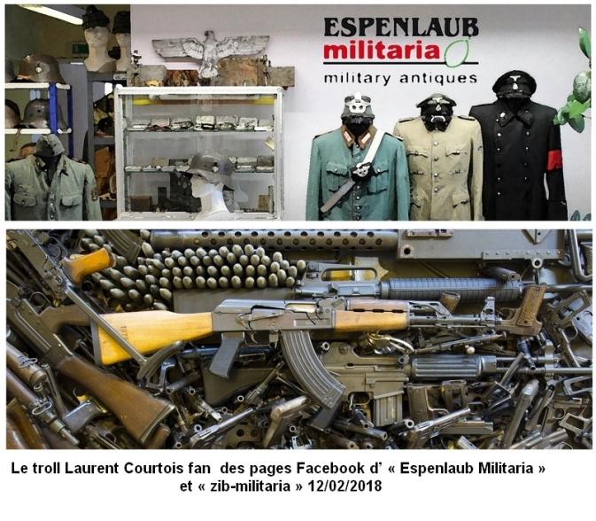 Laurent Courtois, Armes et uniformes nazis par Bernard Grua 120218 Agoravox