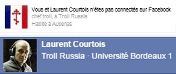 Profil troll de Laurent Courtois Laurent, Donetsk, Novorossia, Agoravox