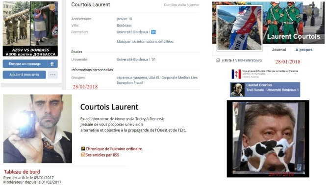 Comment Bernard Grua, pris fait et cause pour l'Ukraine Laurent Courtois Agoravox Novorossia Donetsk
