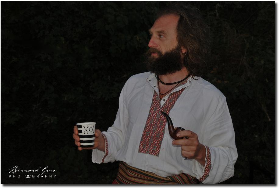 Qui est Taras Beniakh, l'Otaman de la tchaïka cosaque «Presviata Pokrova»? Interview par bernardGrua