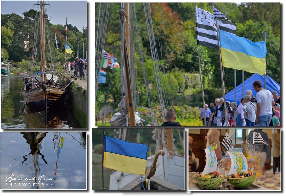 Жовто-блакитний & Gwenn Ha Du à Pont-Aven - 18 & 19 août 2017. Photos B.Grua