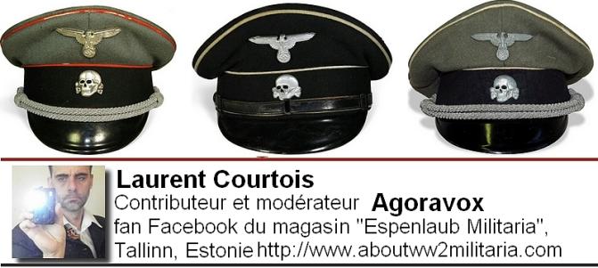 Casquettes SS - nazis -fascistes - Espenlaub Courtois Laurent, Donetsk, Donbass, Ukraine