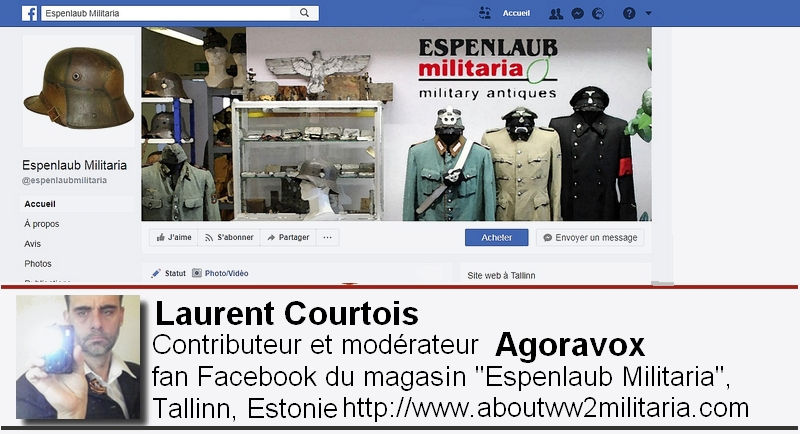 Uniformes nazis et fascistes d'Espenlaub Militaria