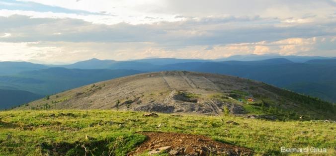 Batagol vue d'ensemble, en 2008, depuis l'emplacement de l'observatoire d'Alibert. Photo Bernard Grua