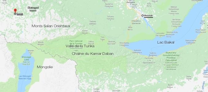 Irkoutsk, vallée de la Tunka, gorges de la rivière Irkout, Sorok et Batagol - Article Bernard Grua