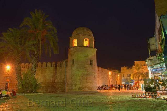 Ribat de Sousse, Sahel, Tunisie - Photo de Bernard Grua