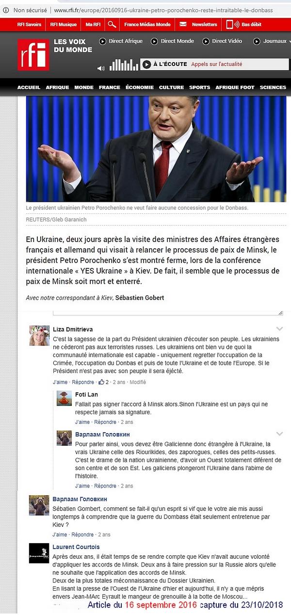Article Sébastien Gobert commenté par le troll Laurent Courtois