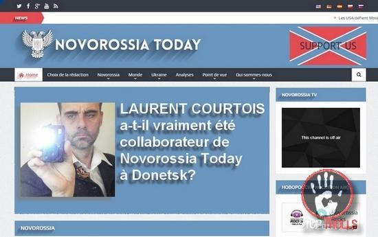 Laurent Courtois a-t-il été véritablement collaborateur de «Novorossia Today» àDonetsk?