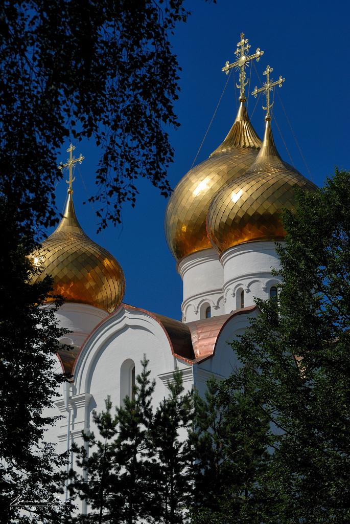 La cathédrale de la Dormition à Iaroslavl, Russied'Europe