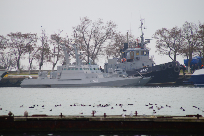 Navires ukrainiens capturés par le FSB Bernard Grua