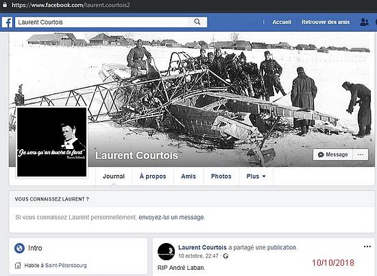 Laurent Courtois Facebook Rocco Siffredi