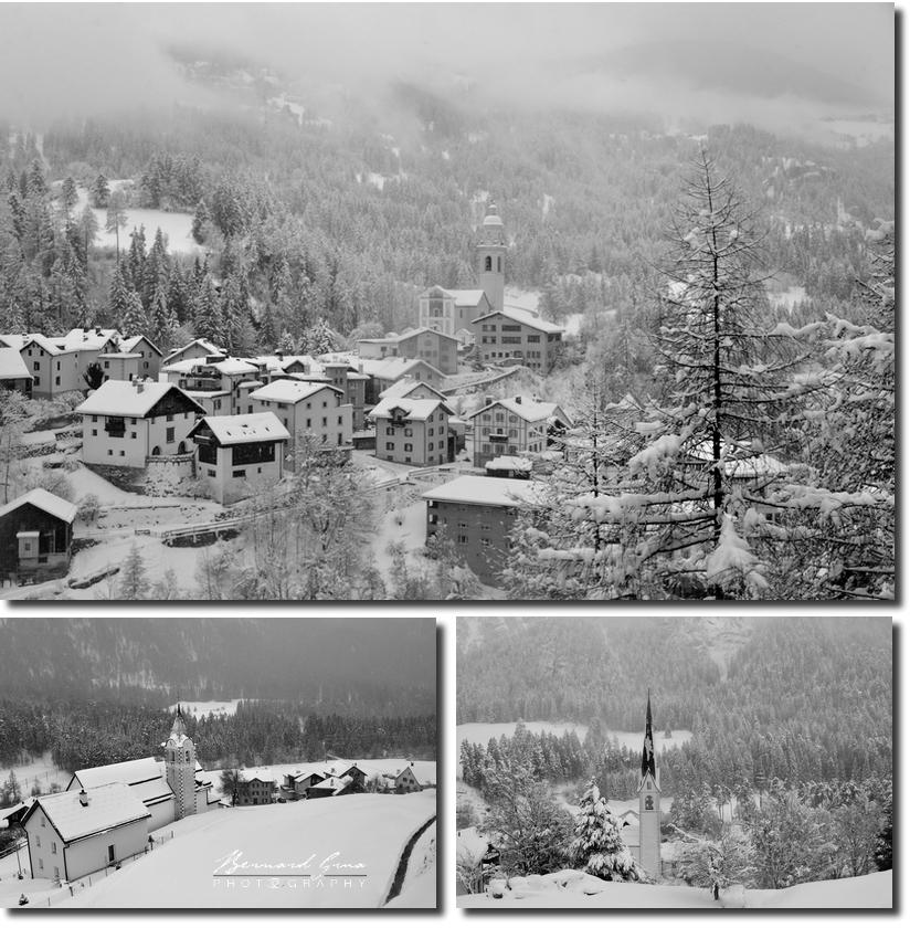 Tiefencastel et villages entre landwasseur et filisur par Bernard Grua  - Rhätishe Bahn, Chemins de fer rhétiques, Bernina Express, Glacier Express