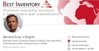 Page Linkedin de Bernard Grua en anglais - Visuel