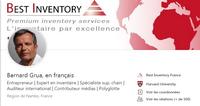 Page Linkedin de Bernard Grua en français-visuel