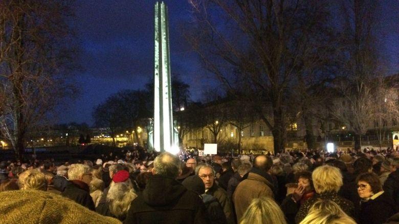 Quelques réflexions sur le rassemblement nantais contre l'antisémitisme