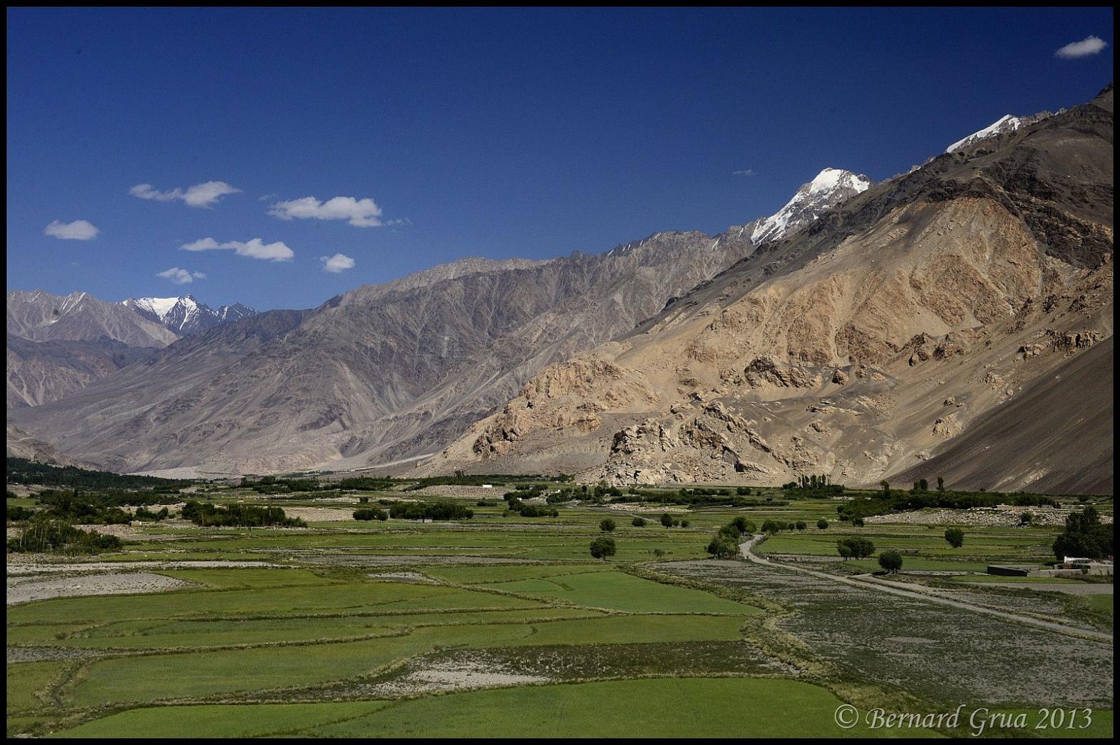 Afghanistan corridor du Wakhan - Photo Bernard Grua