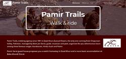 Pamir Trails treks dans le nord Pakistan, en Afghanistan et au Tadjikistan