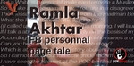 Rmala Aalam (FB personal page)'s tale going on - an incredible troll case