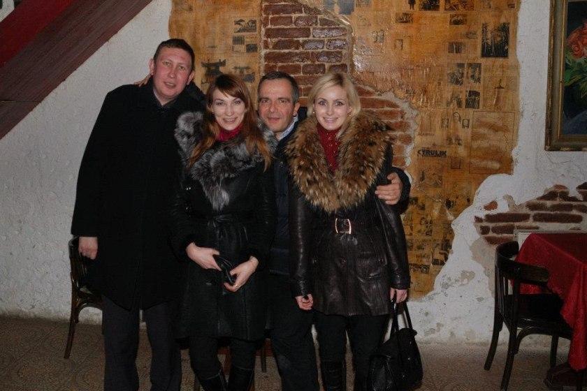 Soirée à Lviv, Ukraine