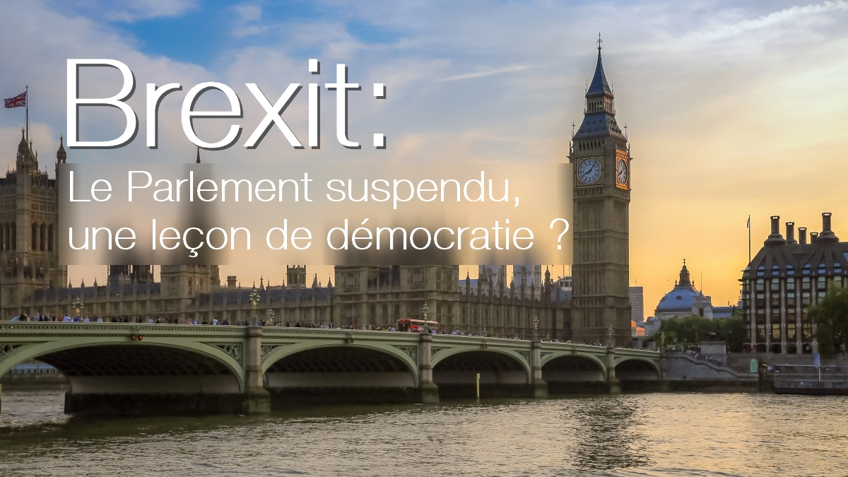 Brexit, suspension du parlement par Boris Johnson, article Bernard Grua
