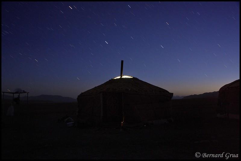 Bernard Grua, heure bleue, blue hour, Tadjikistan, Pamir, Alichour