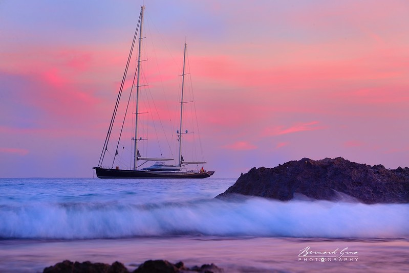 Bernard Grua, heure bleue, blue hour, Formentera