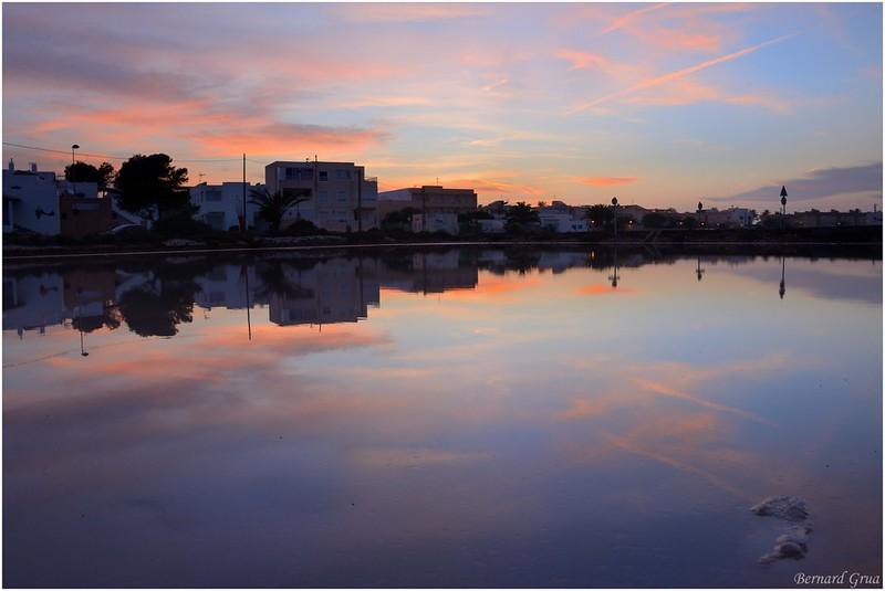 Bernard Grua, heure bleue, blue hour, salinas, Formentera
