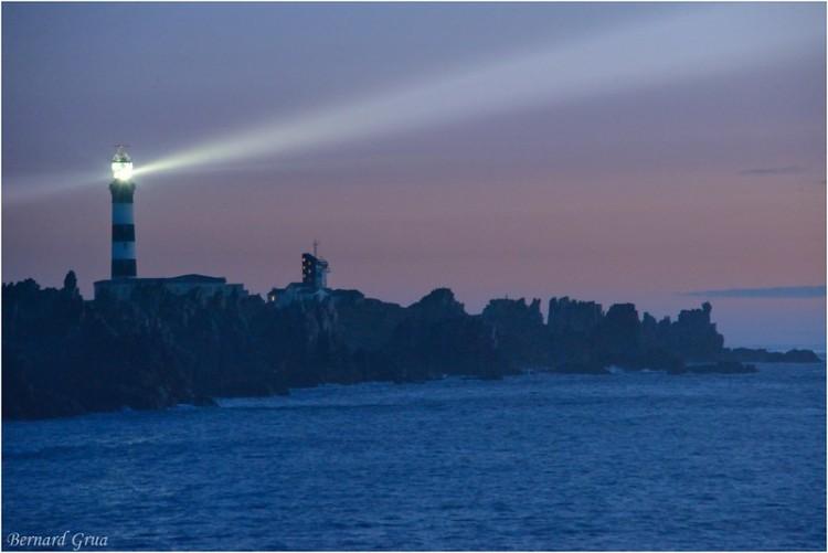 Bernard Grua, heure bleue, blue hour, France, Ouessant