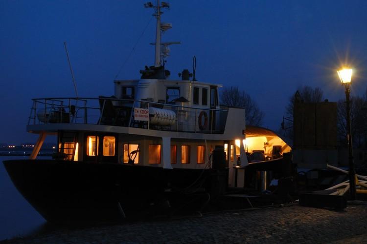 Bernard Grua, heure bleue, blue hour, Pays-Bas,Vollendam