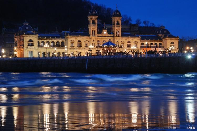 Bernard Grua, heure bleue, blue hour, Espagne, San Sebastian