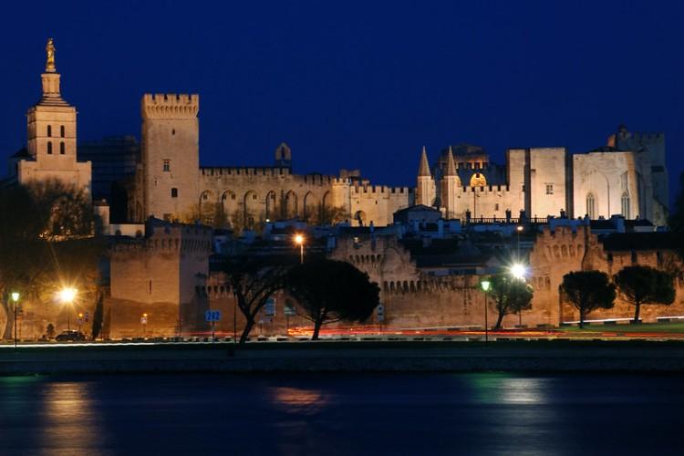 Bernard Grua, heure bleue, blue hour, France, Avignon