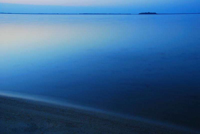 Bernard Grua, heure bleue, blue hour, Ukraine , Lac Svitiaz