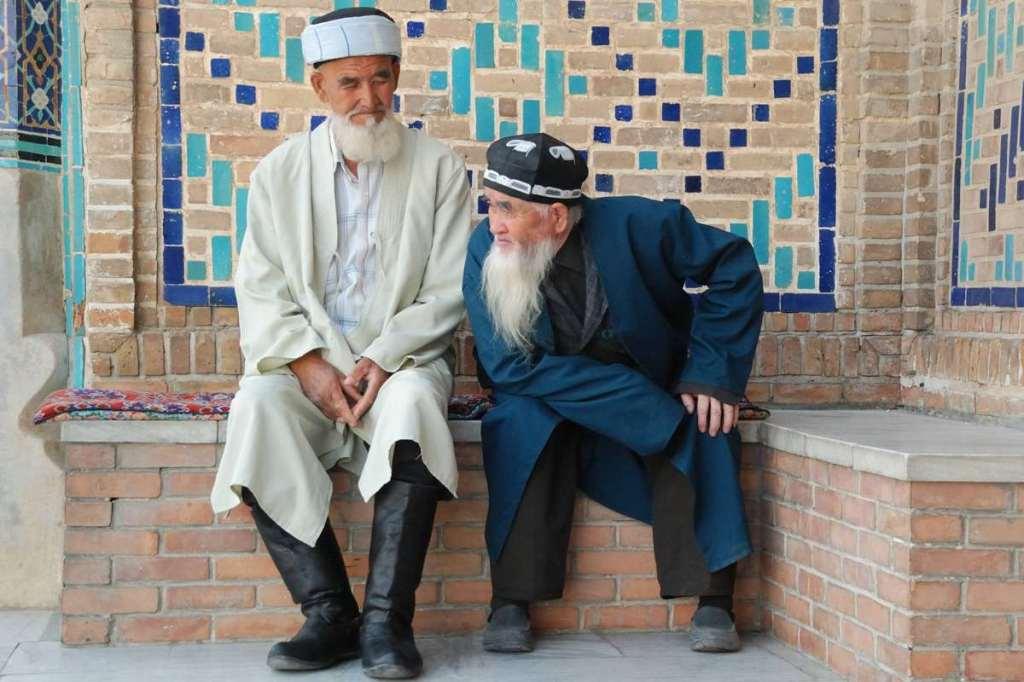 Bernard Grua photographie: Ouzbekistan, Aksakals