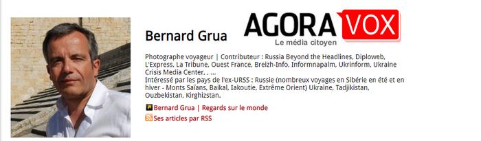 Bernard Grua on Agoravox